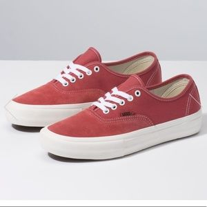 Vans Authentic Pro Mineral Red Shoes Mens Size 12
